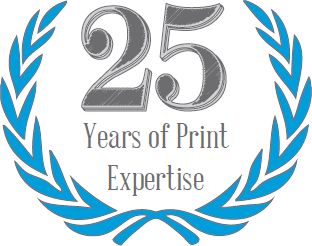 25 years of print expertise